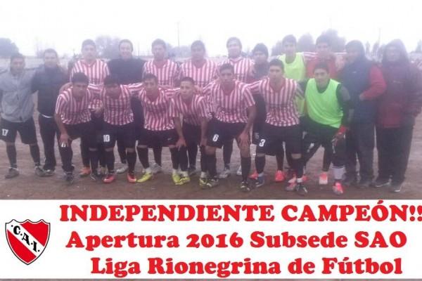 Independiente Campeón en San Antonio
